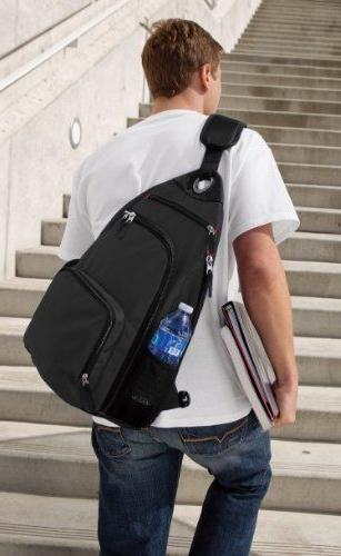 Однолямочный рюкзак городской