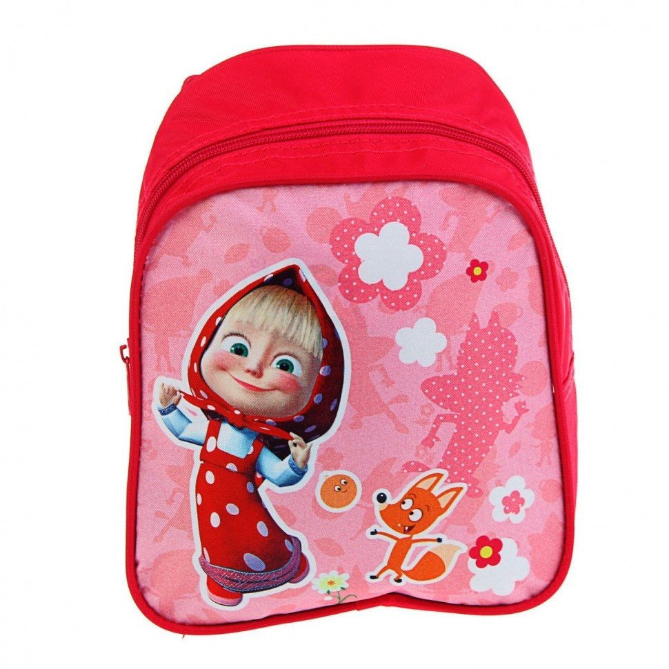 Маленький рюкзак маша и медведь слинг рюкзак на бедрах