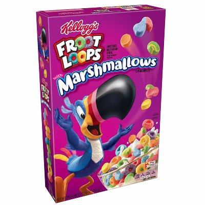 Сухой завтрак Kelloggs Froot Loops Marshmallows 297 г