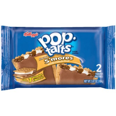 Печенье Pop Tarts Frosted S'mores зефир с глазурью 100 г