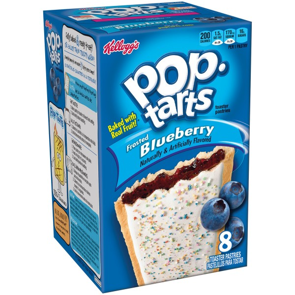 Печенье Pop Tarts Blueberry 416 г