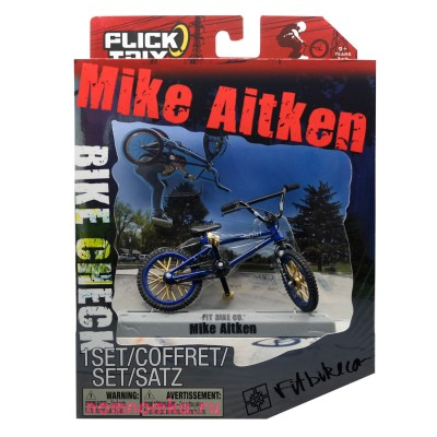 Фингер BMX Flick Trix Bike Check Fitbikeco Mike Aitken 20032332