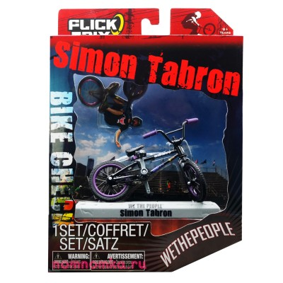 Фингер BMX Flick Trix Bike Check WeThePeople Simon Tabron 200323334