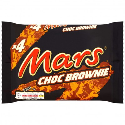 Mars Choc Brownie x4