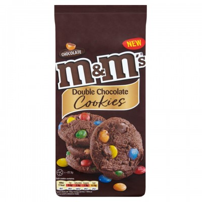 M&M's Double Chocolate Cookies 180 г