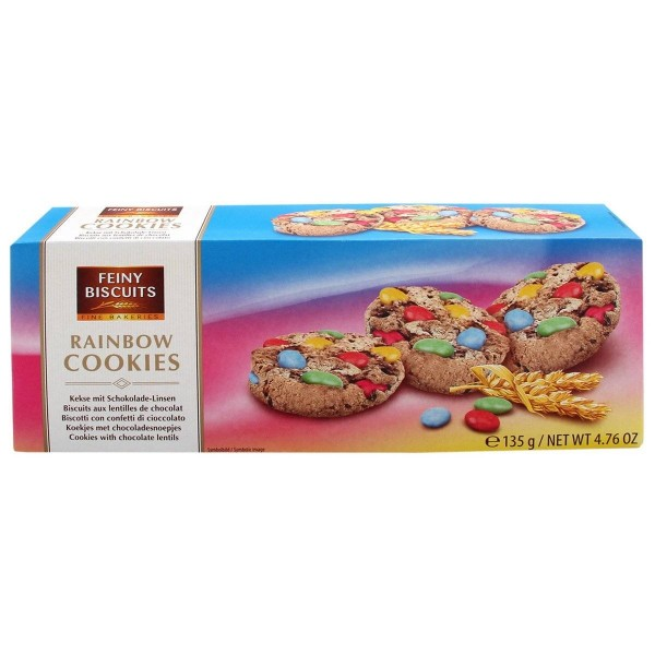 Печенье с M&M Feiny Biscuits