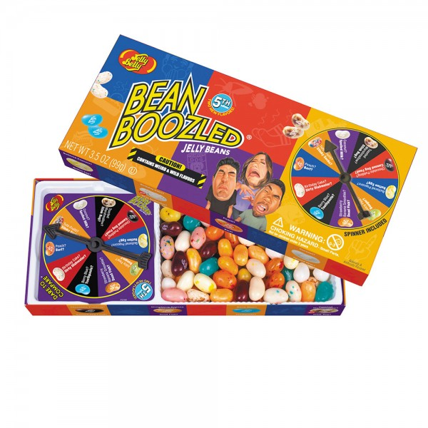 Jelly Belly Bean Boozled 5 с рулеткой 100 г