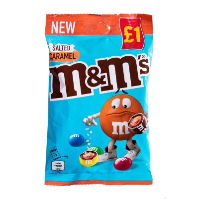 M&M's Salted Caramel 70 г