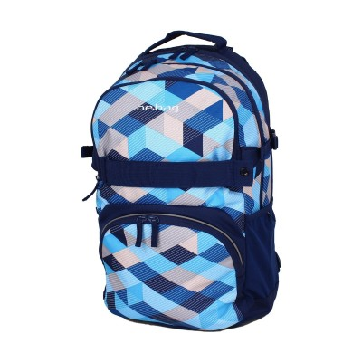 Рюкзак Herlitz 11410123 Be.Bag Cube Blue New Checked