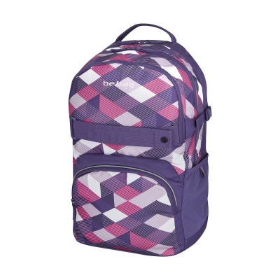 Рюкзак Herlitz 11410339 Be.Bag Cube Purple Checked