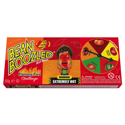 Jelly Belly Bean Boozled Flaming Five с рулеткой 100 г