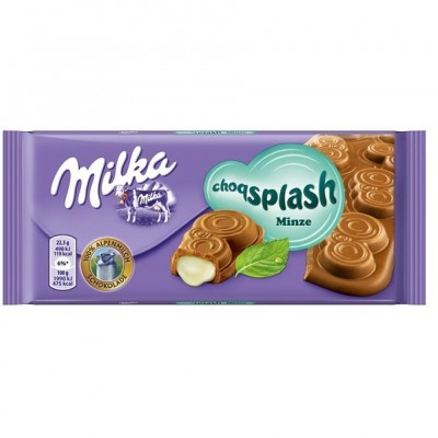Milka Choqsplash Mint