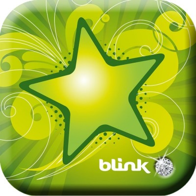 Драже со вкусом зеленого яблока Blink Mints Green Apple