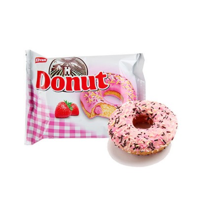 Пончик Today Donut Strawberry 50 г
