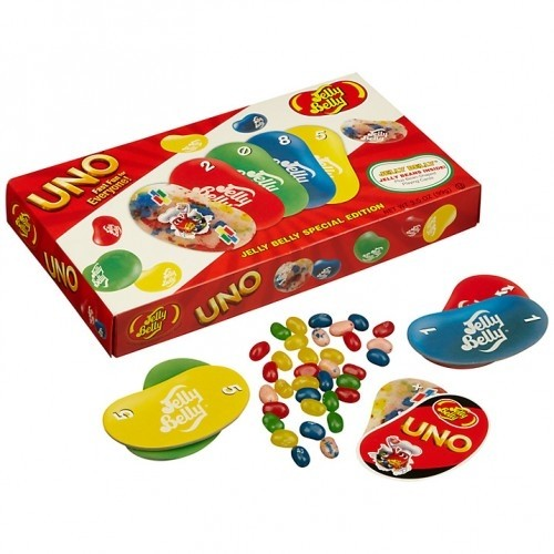 Jelly Belly с игрой UNO