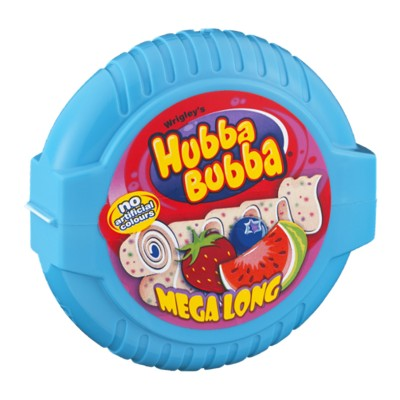 Жвачка Hubba Bubba Mega Long fruit mix