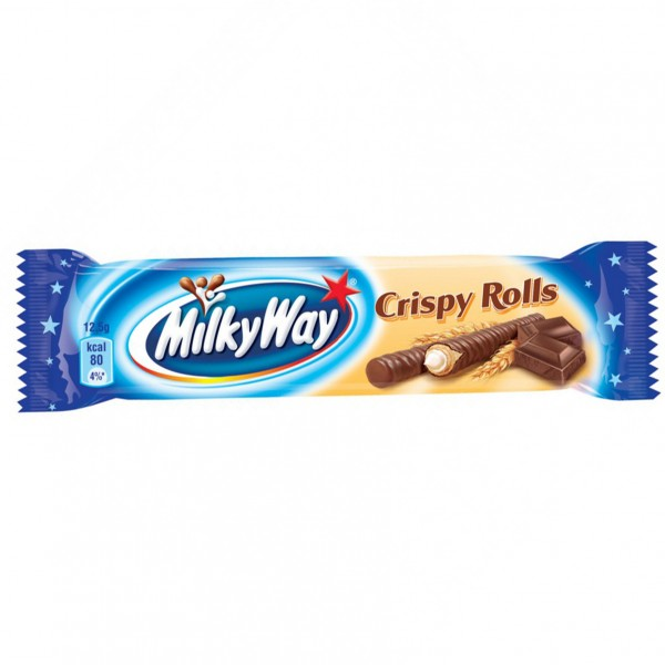 Milky Way Crispy Rolls 25 г